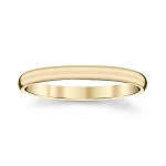 2mm Mound Thumb Ring