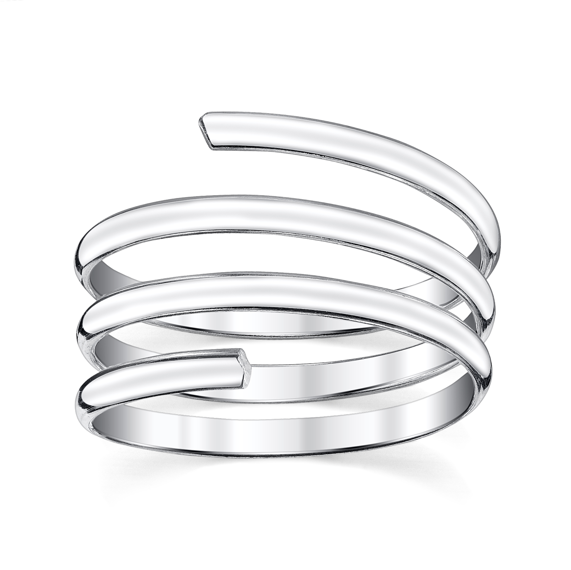 Triple Twist Thumb Ring