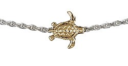 Honu Anklet (two tone)